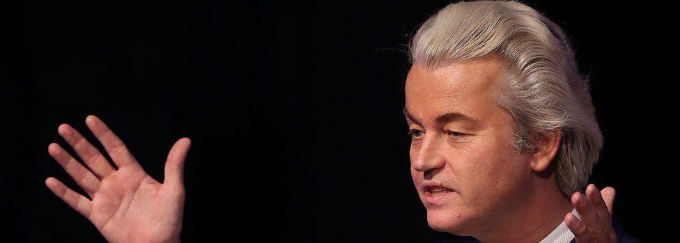 Geert Wilders file pic