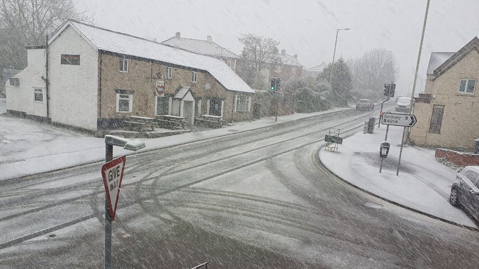 Snow in Clee Hill