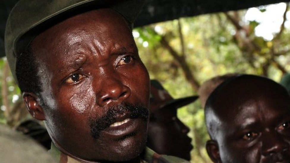 Joseph Kony pictured in 2006