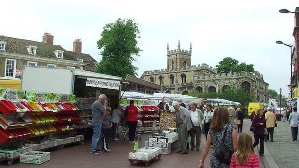 Huntingdon market