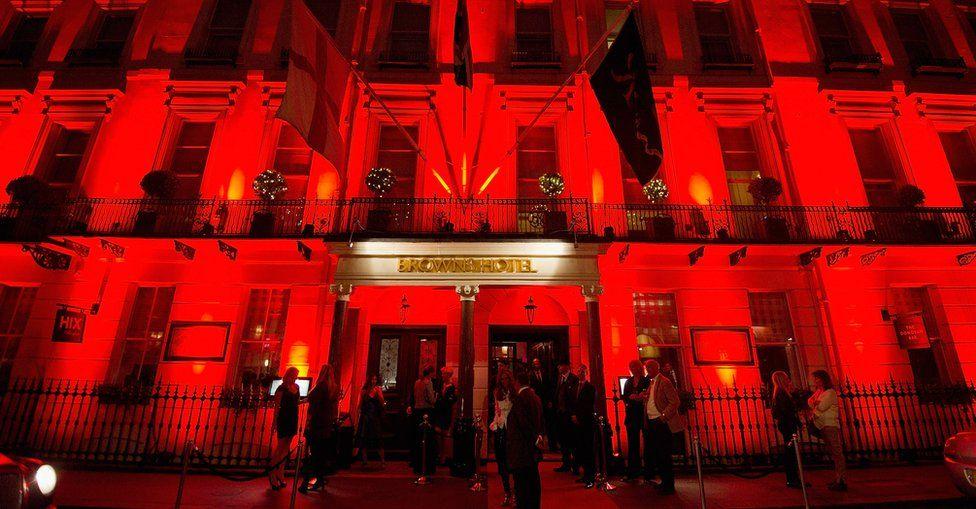 Brown's Hotel in Mayfair