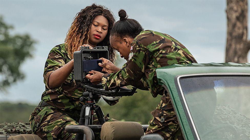 Rangers install a phone camera