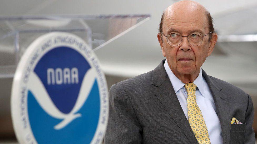 Wilbur Ross attends the NOAA's 2019 Hurricane Season Outlook briefing