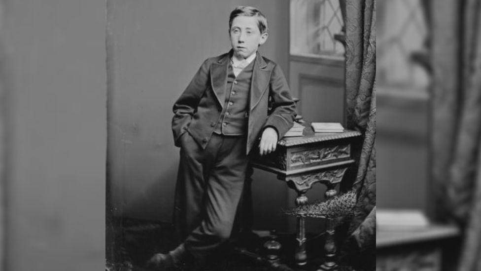 Frank Gill at the age of 11