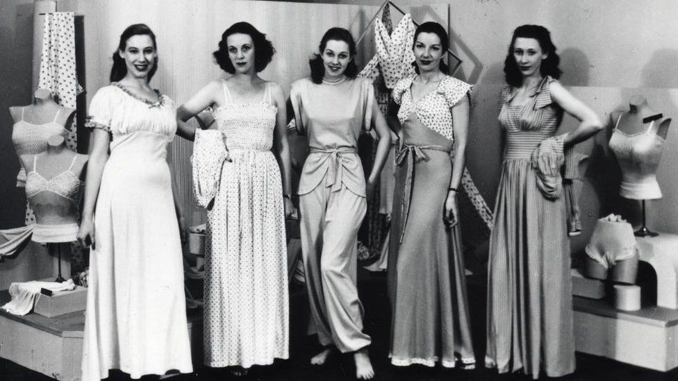 2974e4c88c M S archive images chart the history of the bra - BBC News