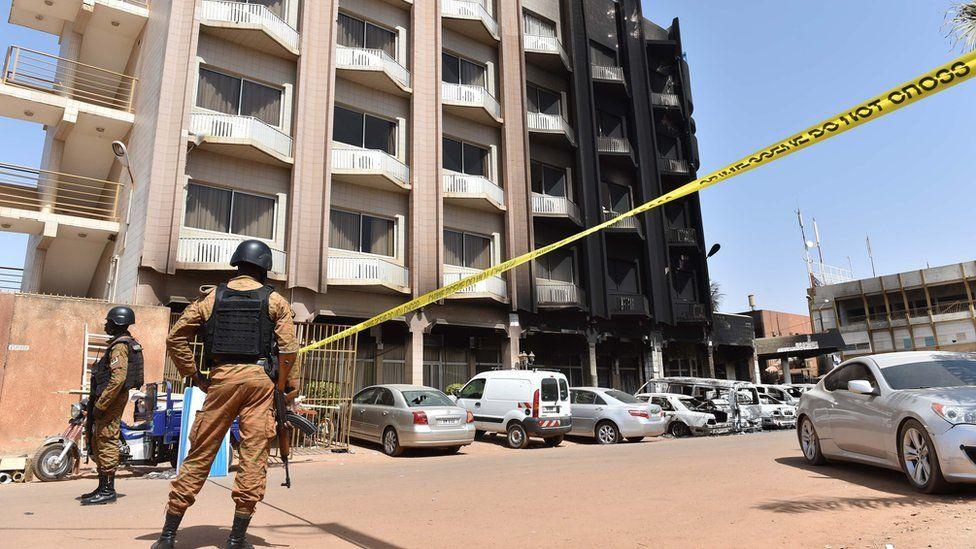 Hotel attacked in Ouagadougou