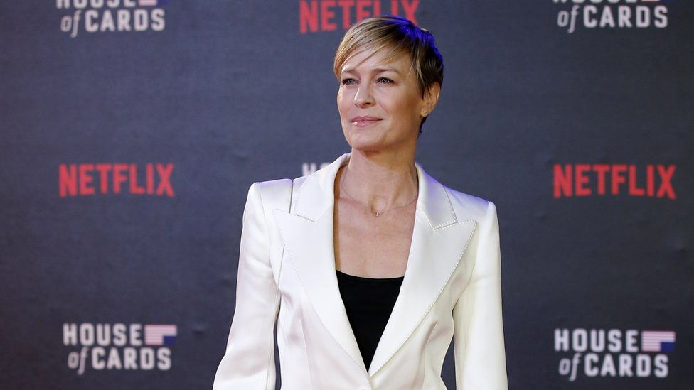 Robin Wright stars in House of Cards