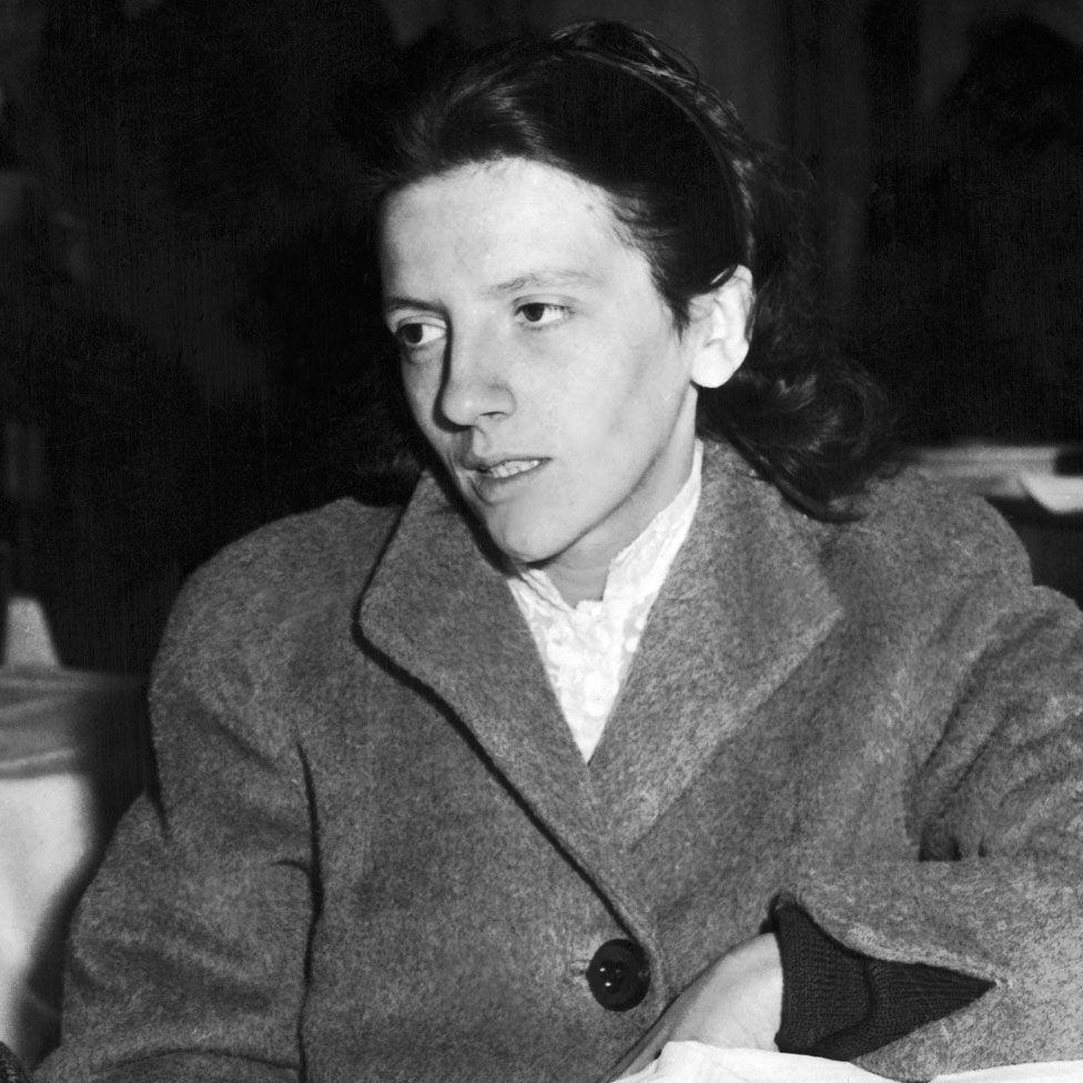 Josette Audin in December 1957