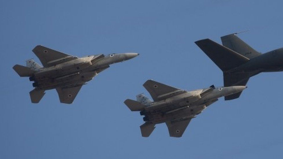 Israeli F15I fighter jets (June 2012)