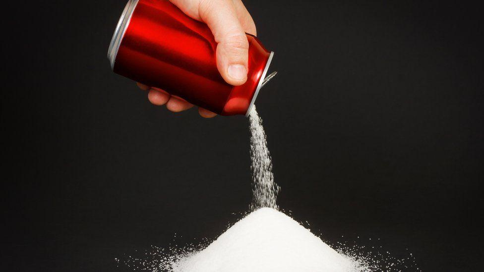 sugar in fizzy drinks