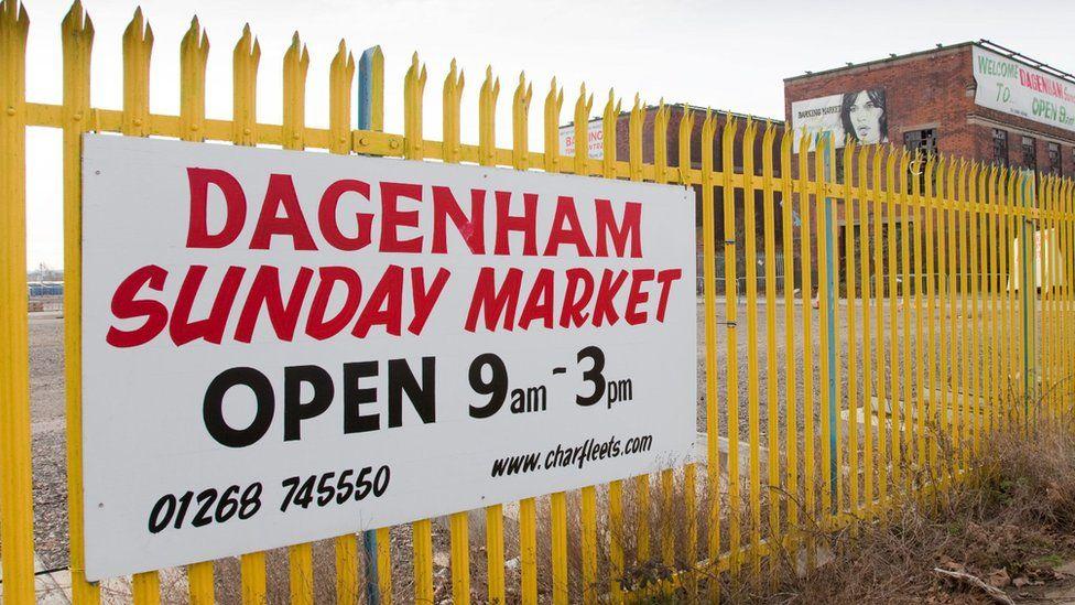 Dagenham Sunday Market