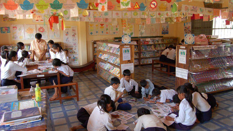 Cambodia library