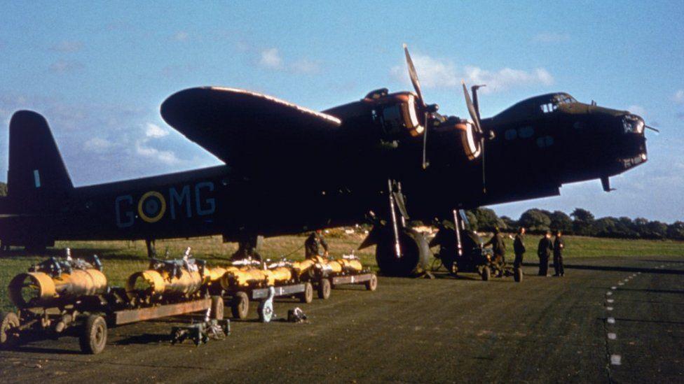 Short Stirling Bomber in 1943