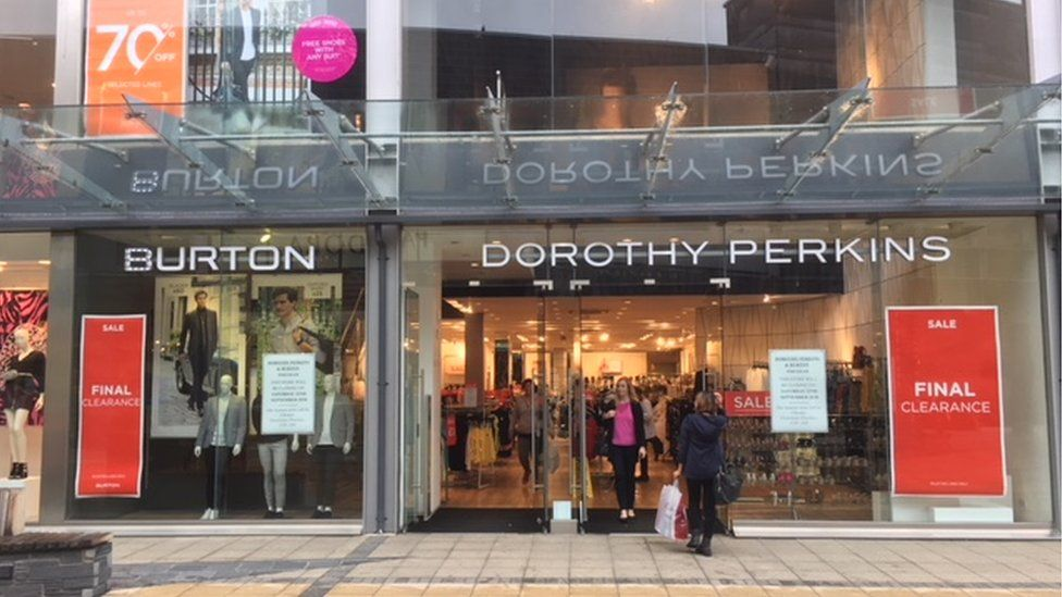 Burtons and Dorothy Perkins are closing this month