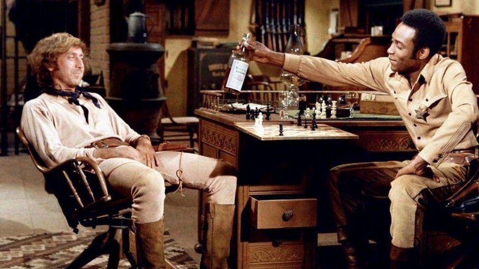 Gene Wilder as The Waco Kid