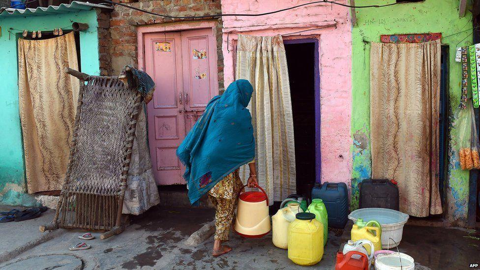 Delhi water shortage