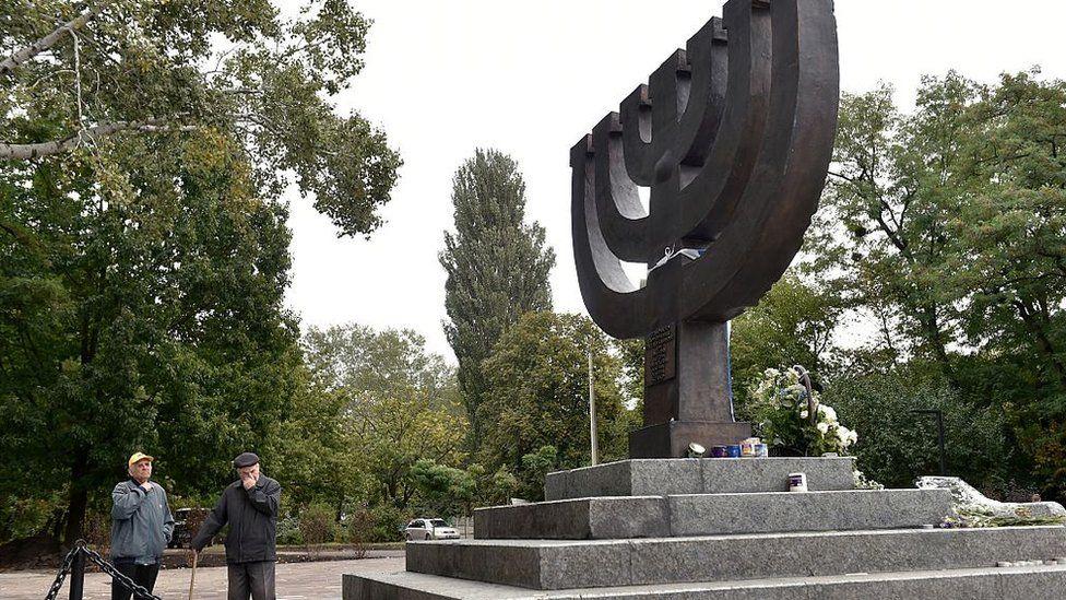 Babi Yar memorial (file photo)