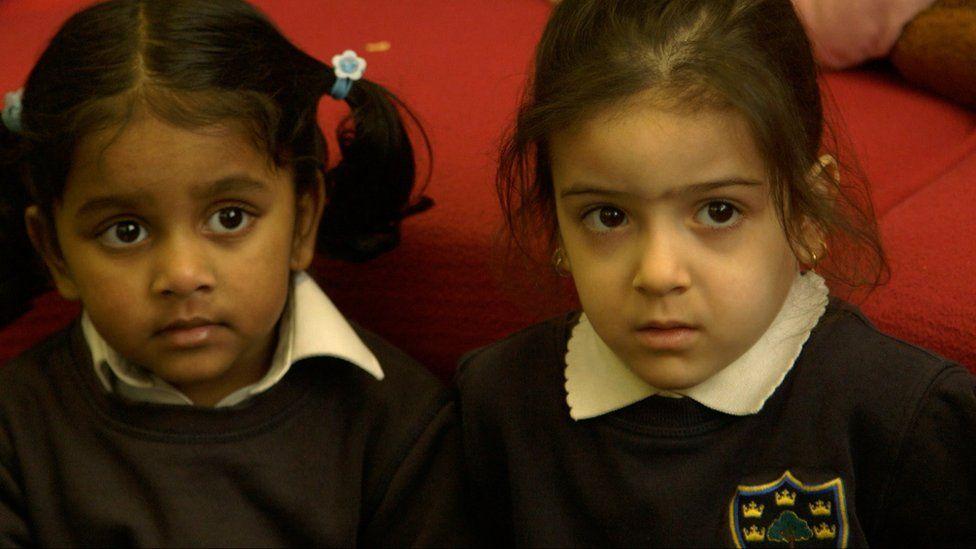 Nursery pupils