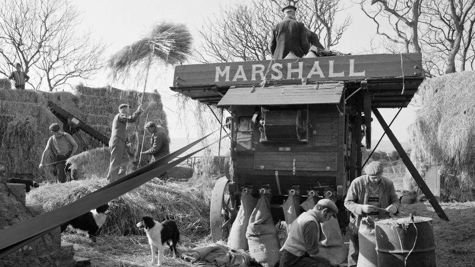 Mr T. Kinnish's Mill, Grenaby, Malew