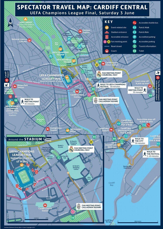 Spectator Travel Map