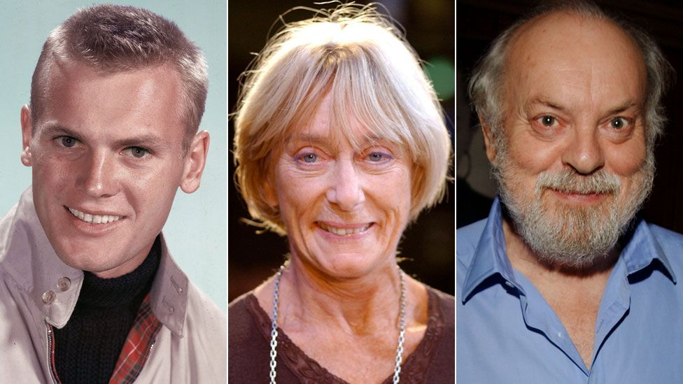 Tab Hunter, Gillian Lynne and Hugh Whitemore