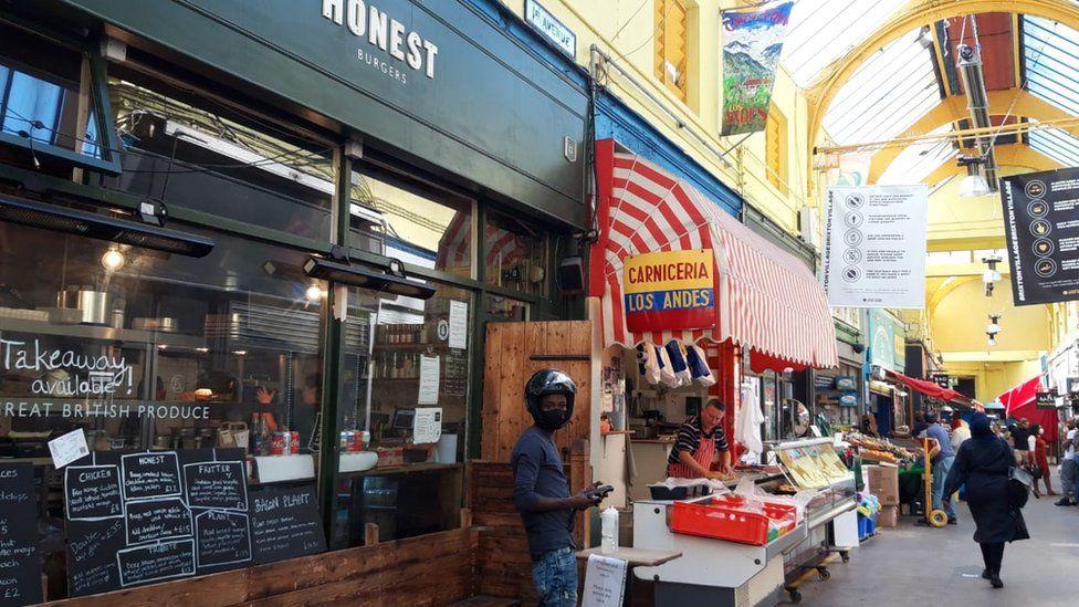 Honest Burgers in Brixton Village