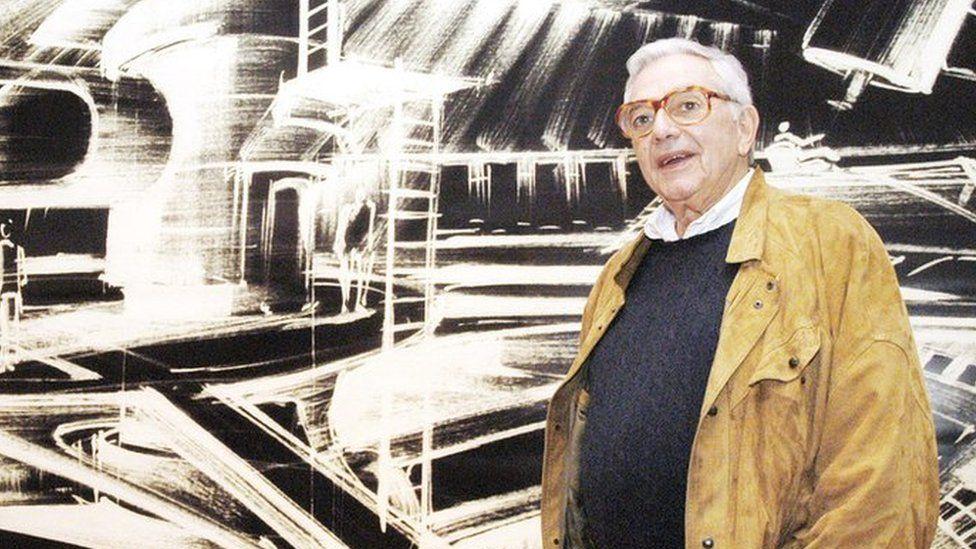 Sir Ken Adam in 2002