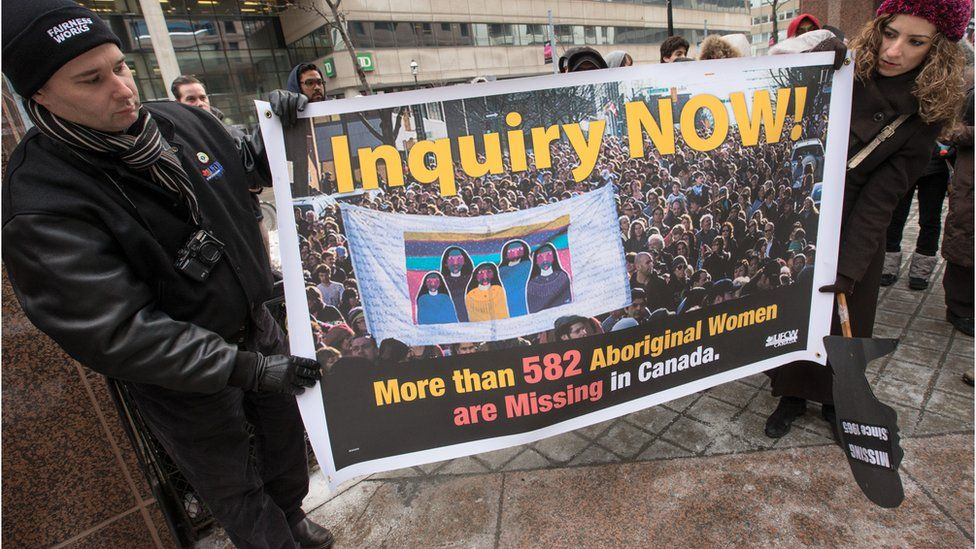 Canadian national inquiry: Giving a voice to missing and murdered