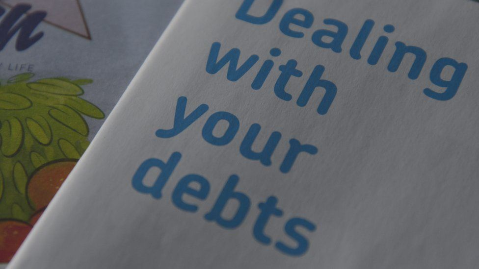 Leaflet dealing with your debts