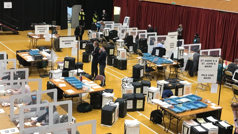 Colchester count