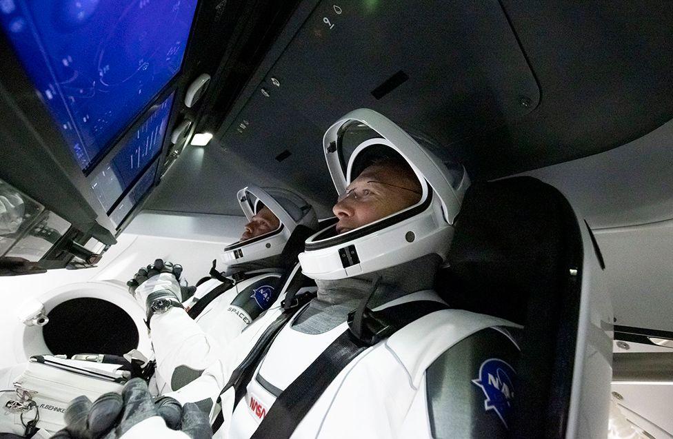 Crew Dragon interior