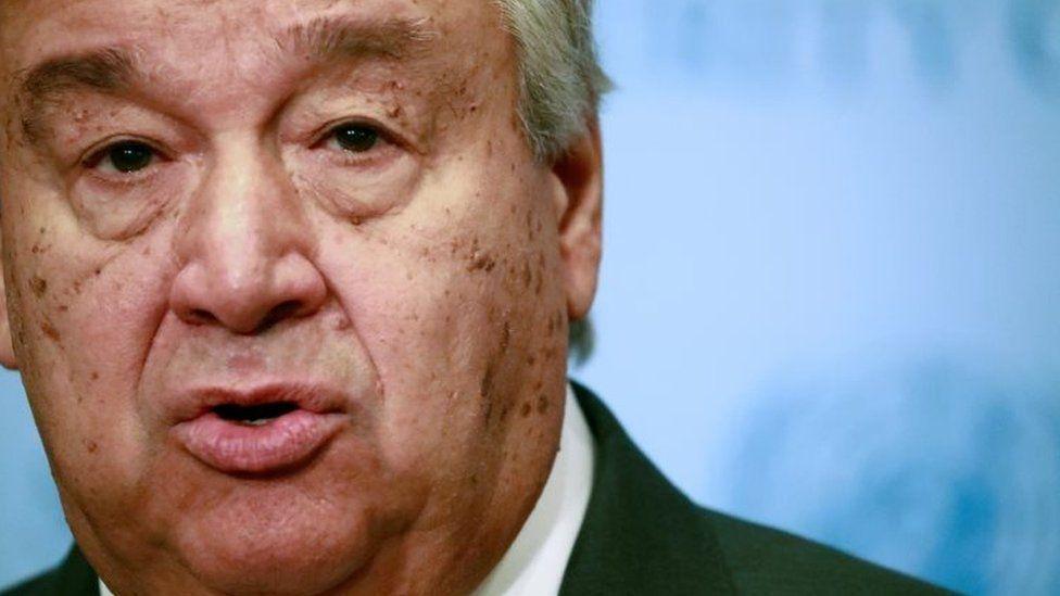 UN Secretary General António Guterres. File photo
