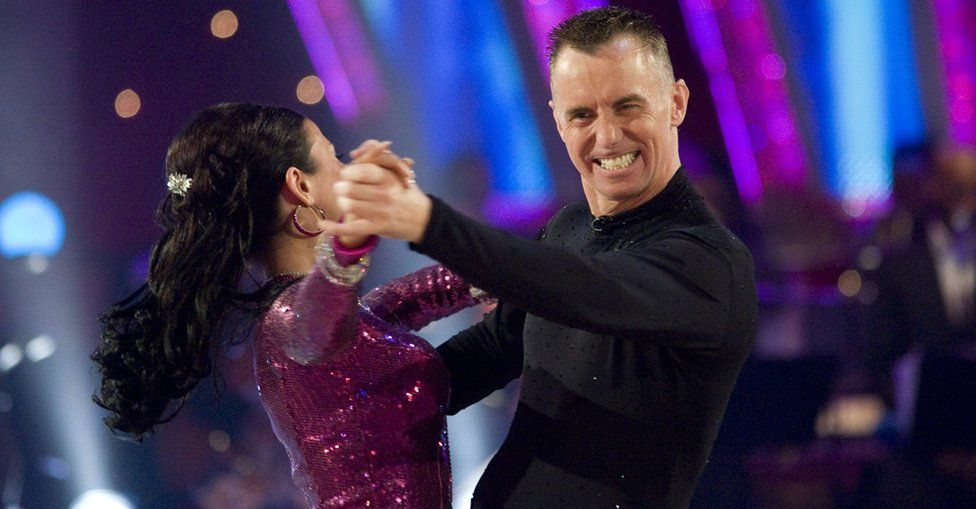 Gary Rhodes on Strictly Come Dancing