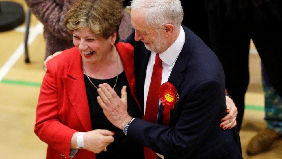 Jeremy Corbyn and Emily Thornberry