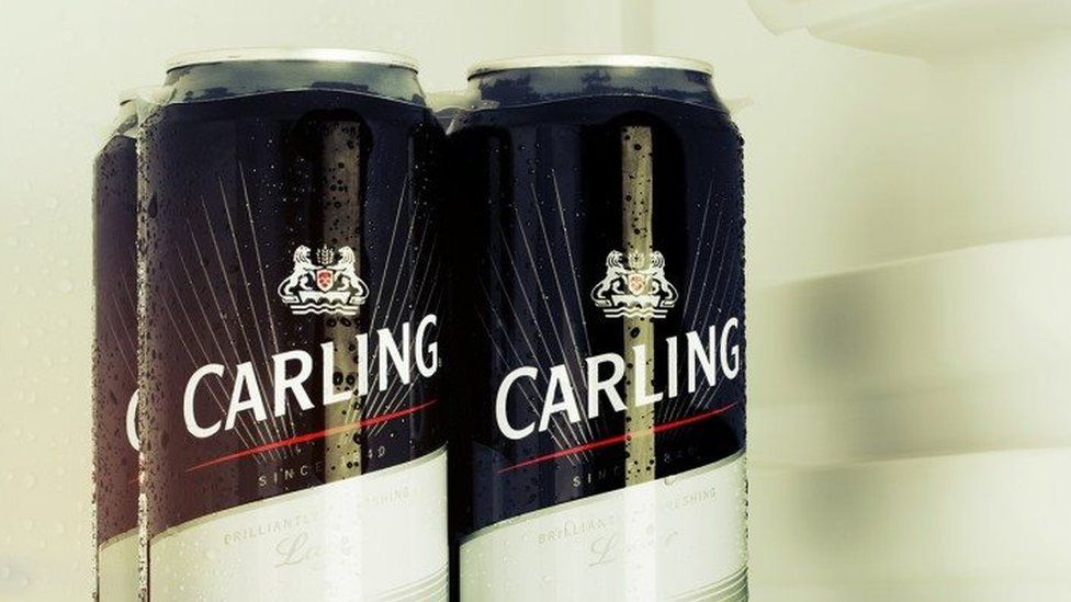 Cans of Carling