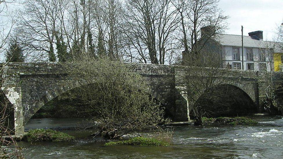 Llanybydder Bridge