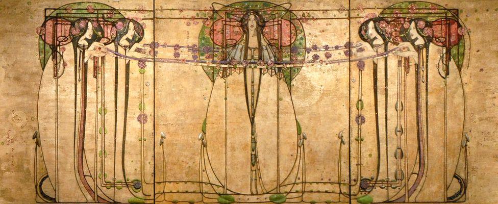 Margaret Macdonald Mackintosh, The May Queen, 1900