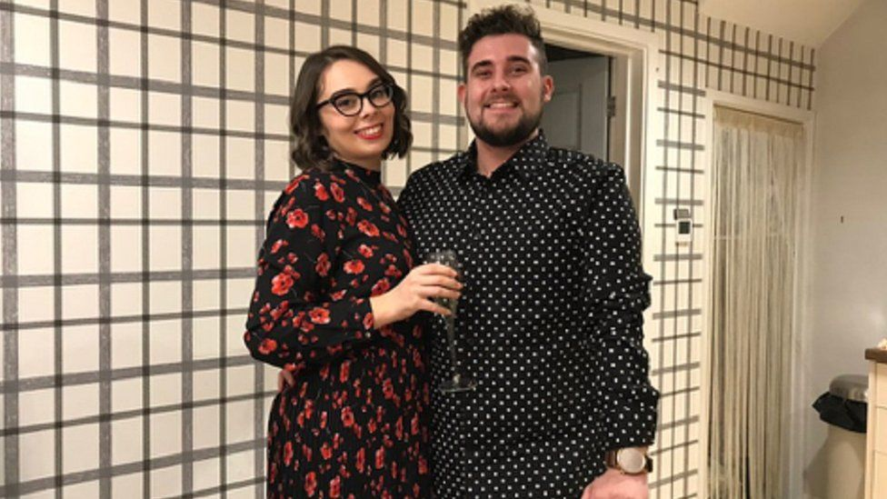 James and his girlfriend Amy