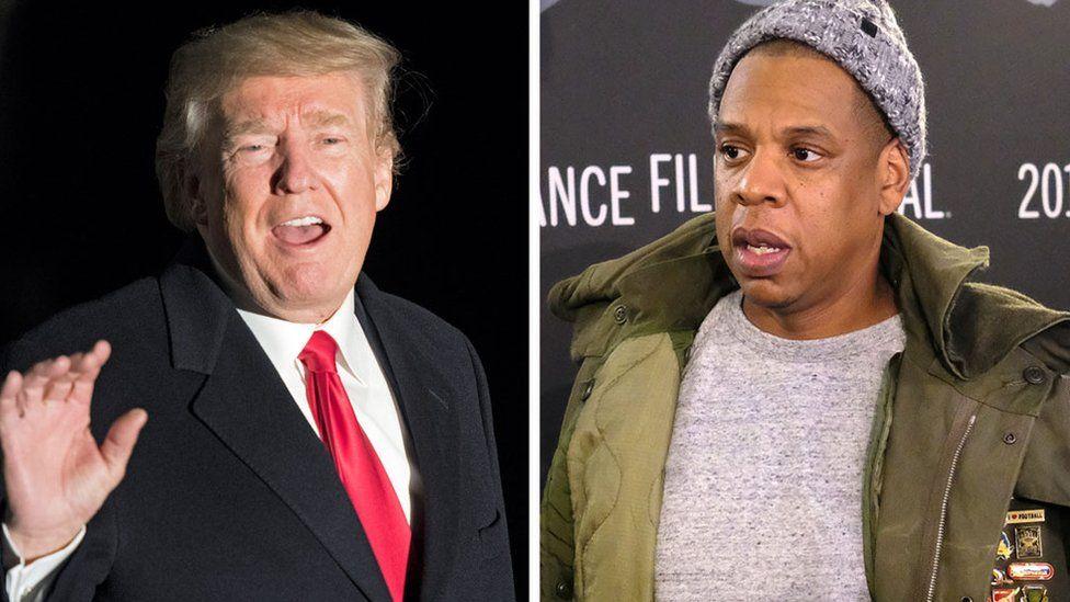 Donald Trump and Jay-Z