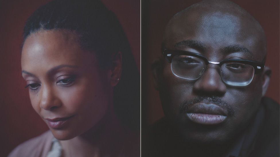 Left to right: Thandie Newton and Edward Enninful
