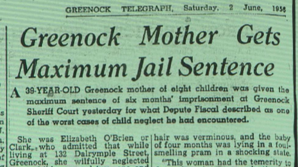 Greenock Telegraph news story