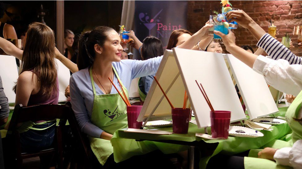 Paint Nite holds classes across the US