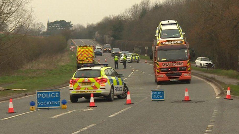 Kegworth police car crash