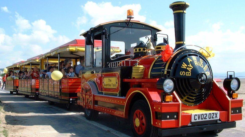 Swansea Bay land train