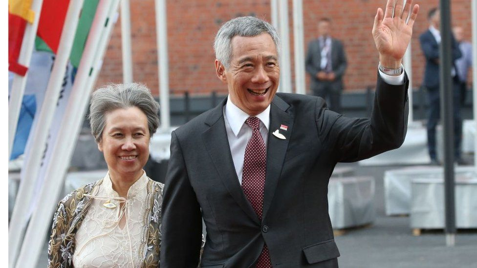 Ho Ching is the wife of Singapore Prime Minister Lee Hsien Loong.