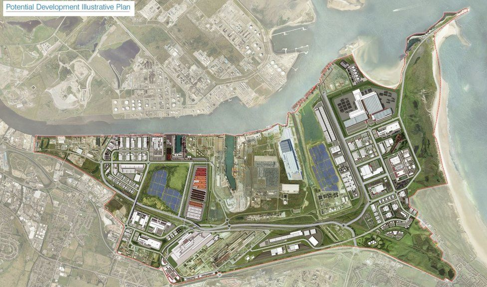 Artist's impression of the site after redevelopment