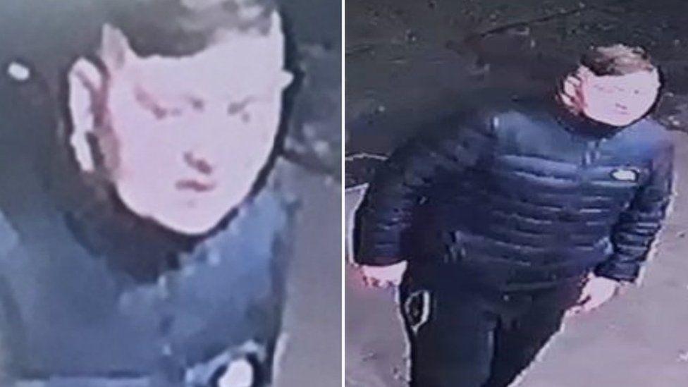 CCTV image of man