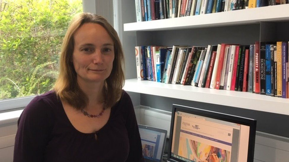 Felicity Thomas leads the Destress project
