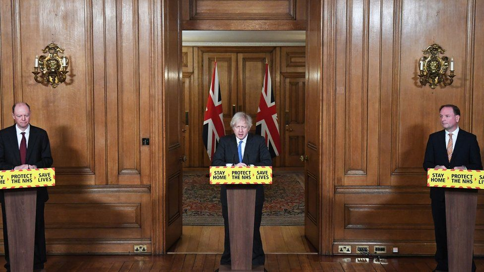 A Downing St Covid press conference