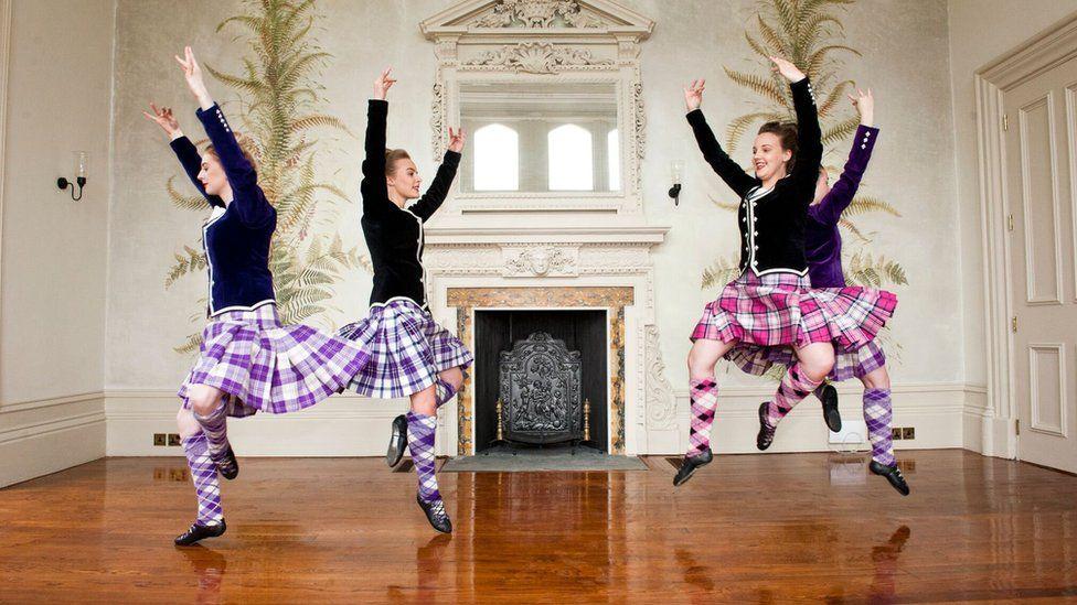 Royal National Mòd dancers
